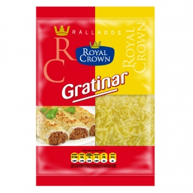Queso rallado hilo para gratinar Royal Crown 175 g.