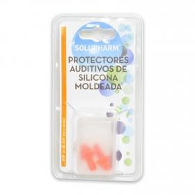 Protectores auditivos de silicona moldeada