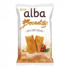 Bocaditos de queso, tomate y orégano Alba 110 g.