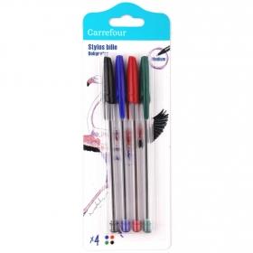 Bolígrafos Medium Surtidos 4 uds