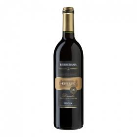 Vino D.O. Rioja tinto reserva D´avalos etiqueta negra Berberana 75 cl.