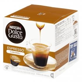 Café espresso caramelo en cápsulas