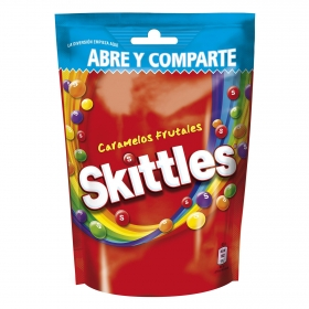 Caramelos masticables Frutas Skittles 174 g.