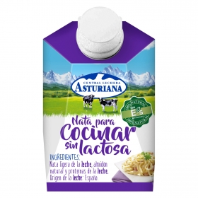 Nata para cocinar Central Lechera Asturiana sin lactosa 200 ml.