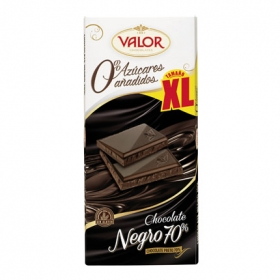 Chocolate negro 70% 0% azúcares añadidos xl