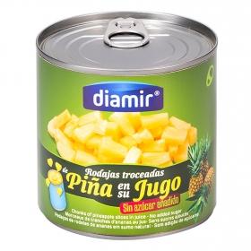 Piña en su jugo especial para ensalada