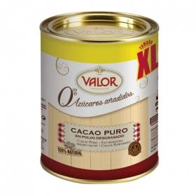 Cacao puro en polvo desgrasado 0% azúcares añadidos xl
