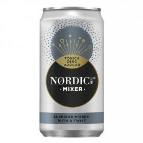 Tónica Nordic Mist zero azúcar lata 25 cl.