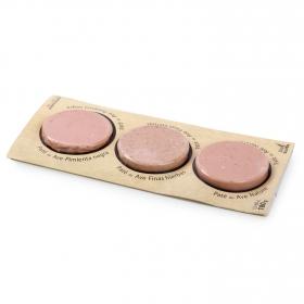 Surtido paté de ave Monflorit pack de 3 unidades de 60 g