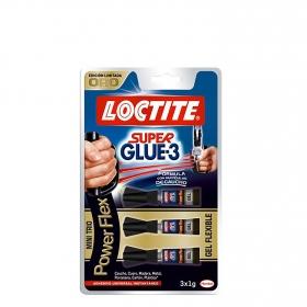 Pack Cola Cianocrilato gel 2x3 gr. E.I.G
