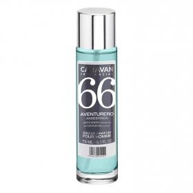 Agua de colonia nº 66 Fougere aromática para hombre Caravan 150 ml.