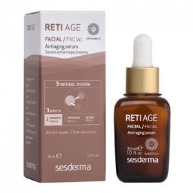 Serum antienvejeciiento para todo tipo de piel Reti Age 30 ml.