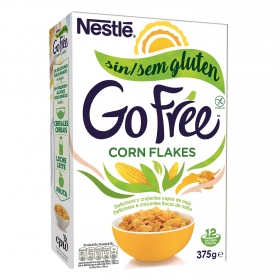 Cereales de maíz Corn Flakes Nestlé sin gluten 375 g.