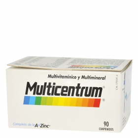 Multivitamínico y multimineral adulto