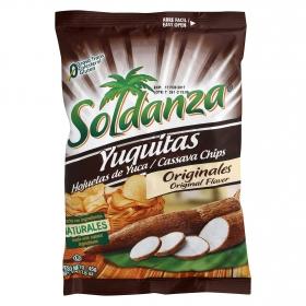 Snacks yuca Soldanza 45 g.
