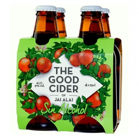Sidra de manzana sin alcohol The Good Cider