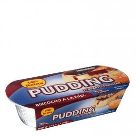Pudding de bizcocho a la miel Reina 440 g.