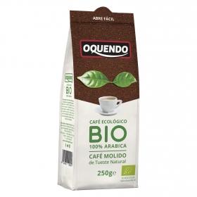 Café molido natural ecológico Oquendo 250 g.