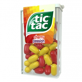 Caramelos Cherry Passion Tic Tac 18 g.