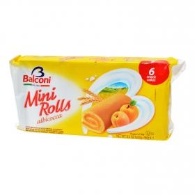 Mini rolls albaricoque