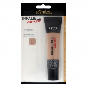 Maquillaje infalible mate 24h nº12 naturel rosé