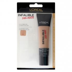 Maquillaje infalible mate 24h nº13 beige rosé L'Oréal 1 ud.