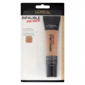 Maquillaje infalible mate 24h nº24 beige doré L'Oréal 1 ud.