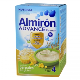 Papilla de cereales sin gluten Advance