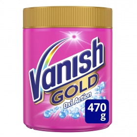Quitamanchas en polvo Gold Vanish OxiAction 470 g.