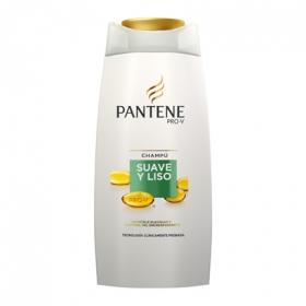 Champú Suave y Liso Pantene 700 ml.
