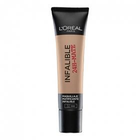 Base de maquillaje infalible 24h mate nº 032 L'Oréal 1 ud.
