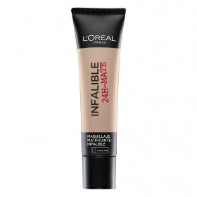 Maquillaje matificante Infalible 24h-Mate nº 12 L'Oréal 1 ud.