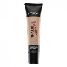 Base de maquillaje infalible 24h mate nº 030 L'Oréal 1 ud.