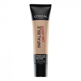 Base de maquillaje infalible 24h mate nº 024 L'Oréal 1 ud.