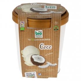 Helado de coco ecológico Bio Factory sin gluten y sin lactosa 500 ml.