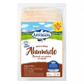 Queso en lonchas ahumado Central Lechera Asturiana 180 g.