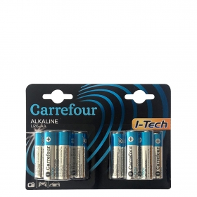 Pack de Pilas Alcalinas I-Tech Lr06 (Aa)