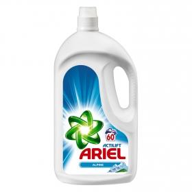 Detergente líquido Alpine Ariel 60 lavados.