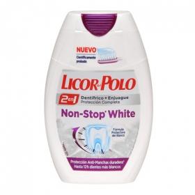 Dentífrico + Enjuague 2 en 1 Non-Stop White