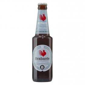 Cerveza Brabante tostada de doble fermentación botella 33 cl.