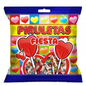 Caramelo con palo Piruletas Fiesta 105 g.