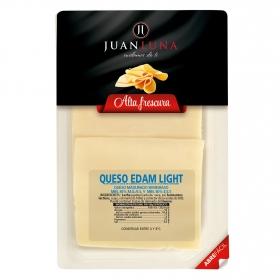 Queso edam light en lonchas Juan Luna 200 g.