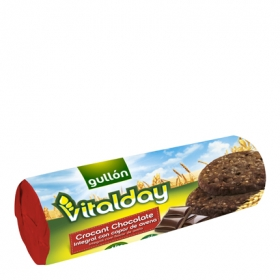 Galletas de chocolate crocanti