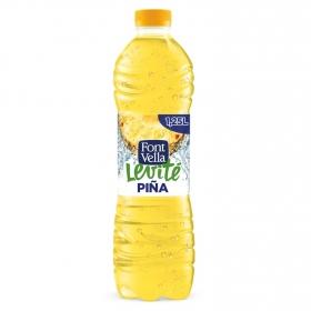 Agua mineral Font Vella Levité con zumo de piña 1,25 l.