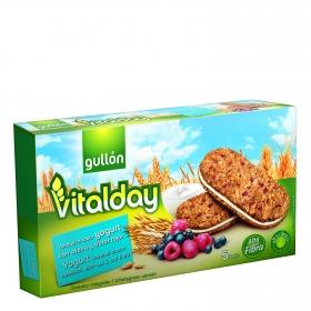 Galletas de yogur con frutos rojos Gullón 220 g.