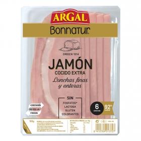Jamón cocido extra Argal Bonnatur 175 g.
