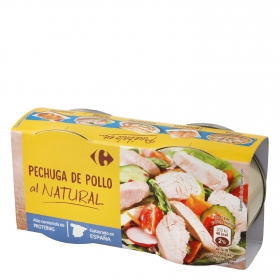 Pechuga de pollo natural