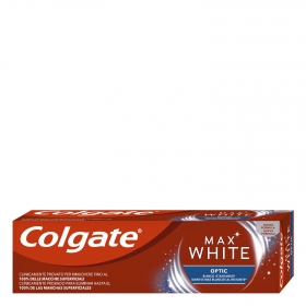 Dentífrico Max White Optic Colgate 75 ml.