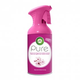Ambientador aerosol Pure Flores de Cerezo Air Wick 250 ml.