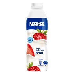 Yogur líquido de fresa Nestlé sin gluten 750 g.
